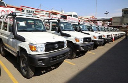 DBE Received 26 vehicles from MOENCO