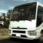 Toyota Coaster Bus Ethiopia